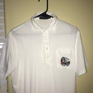 White Ralph Lauren Polo shirt